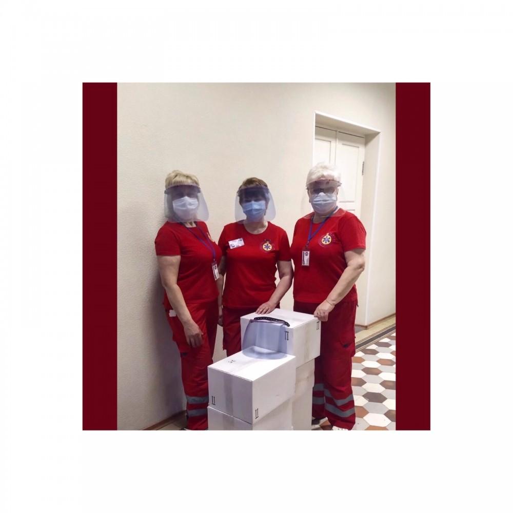 Компанія «Промдизайн» підтримує працівників медичної галузі!